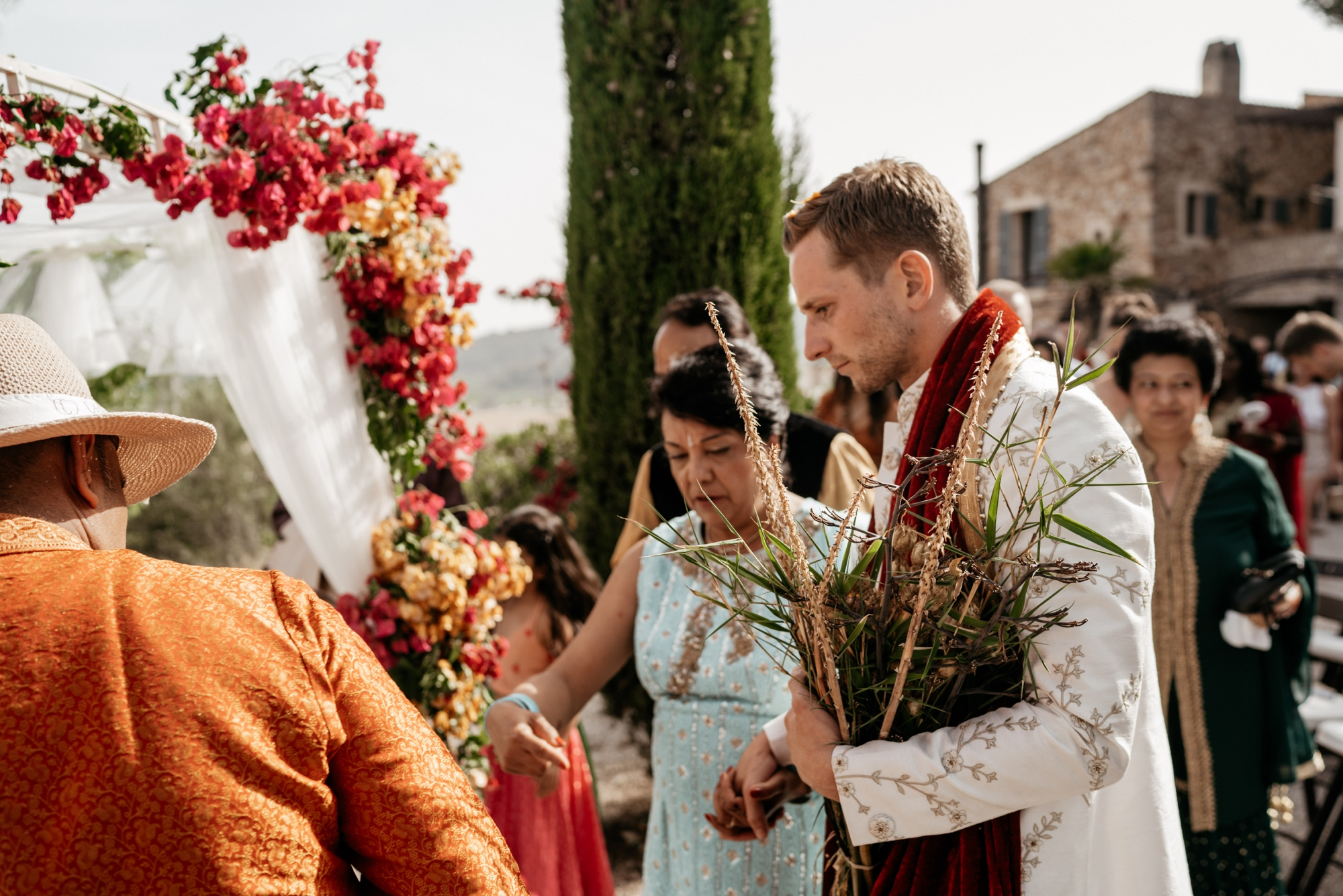 natural wedding photography mallorca boda hindu 0085 1