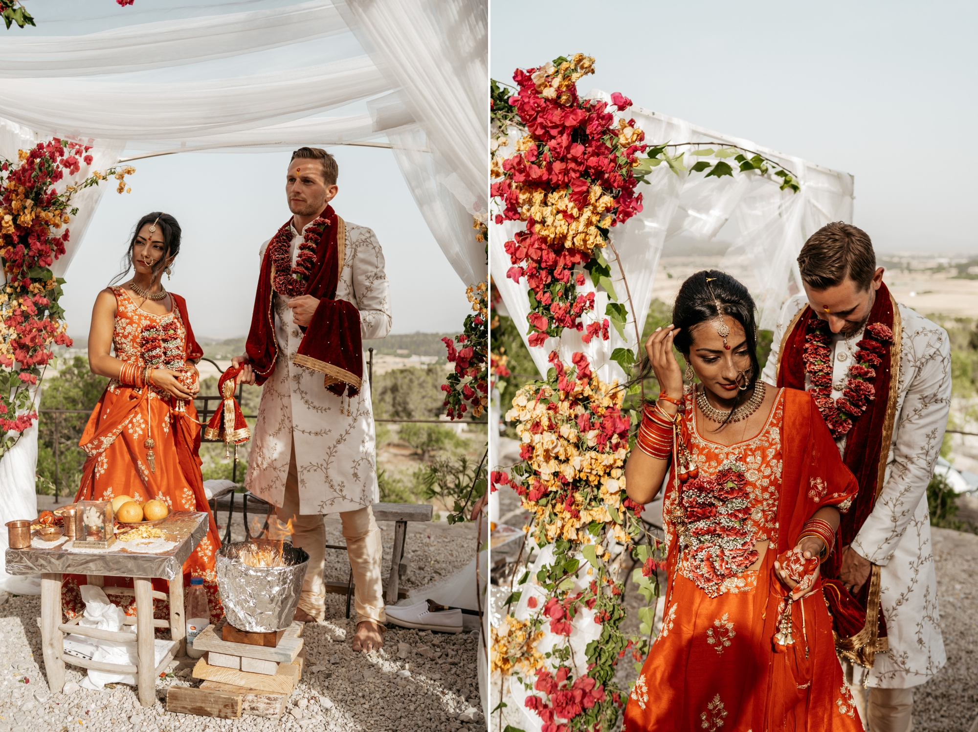 natural wedding photography mallorca boda hindu 0127 1