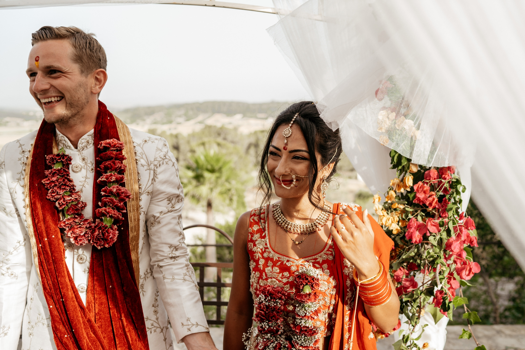 natural wedding photography mallorca boda hindu 0139 1