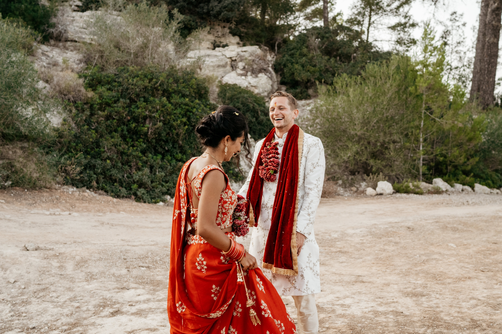 natural wedding photography mallorca boda hindu 0155 1