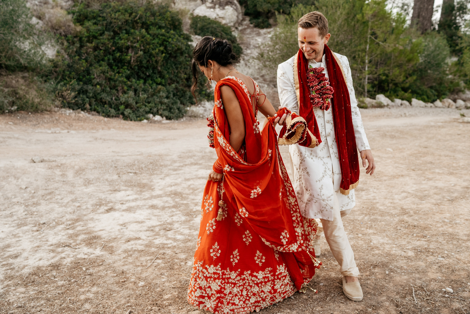 natural wedding photography mallorca boda hindu 0156 1