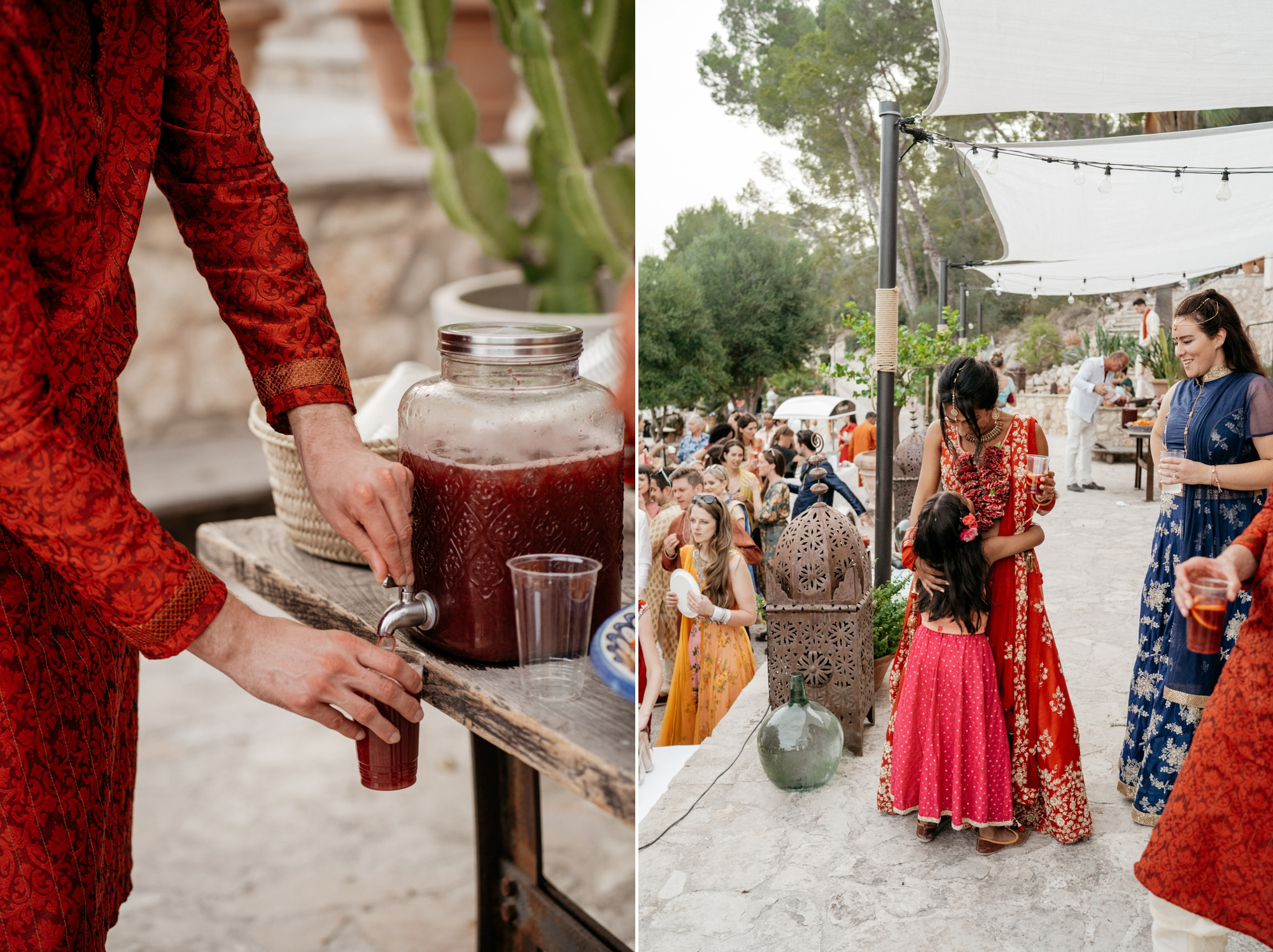 natural wedding photography mallorca boda hindu 0170 1