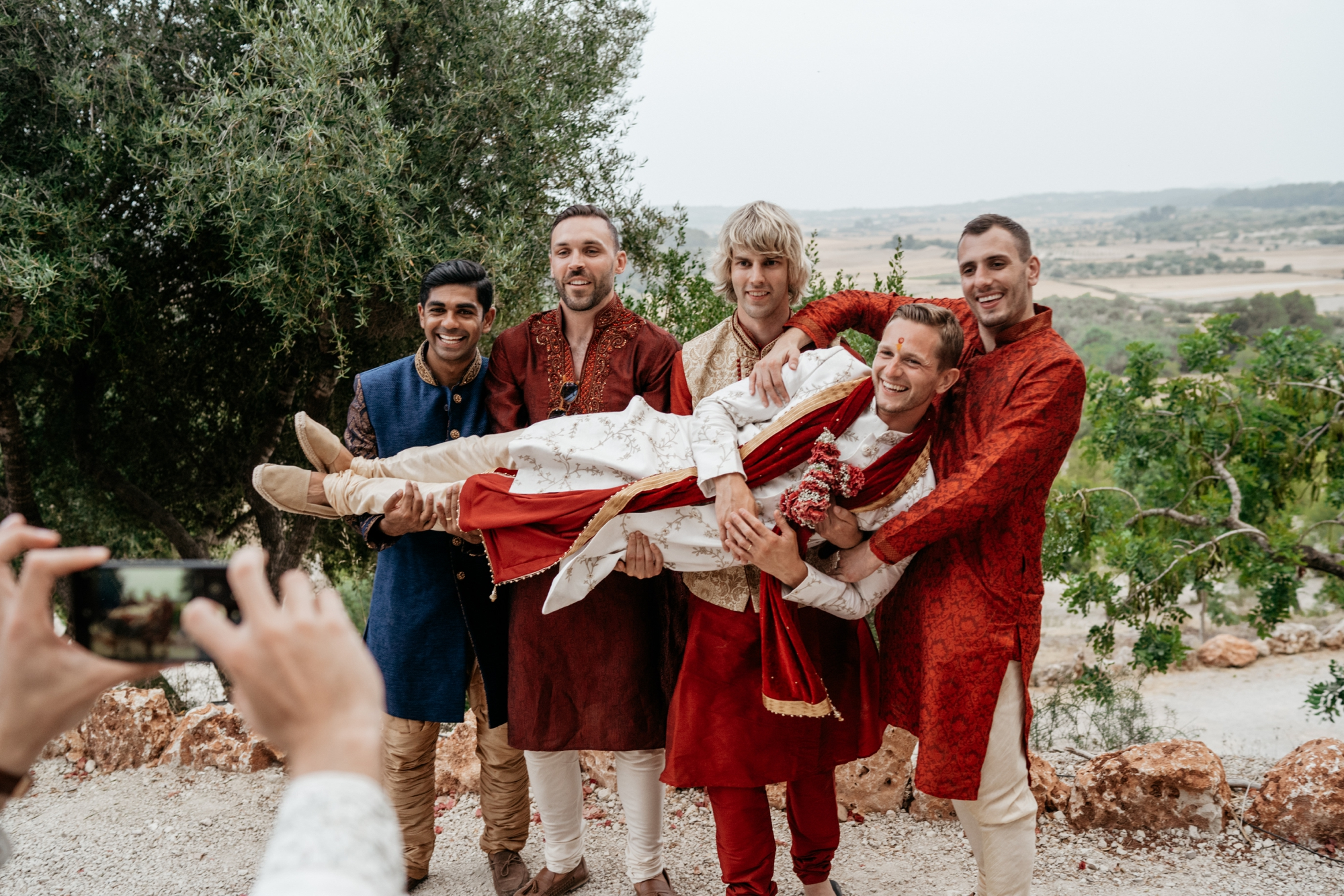 natural wedding photography mallorca boda hindu 0176 1